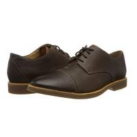 中亚Prime会员、限尺码 : Clarks  Atticus Cap Derbys 男士休闲皮鞋