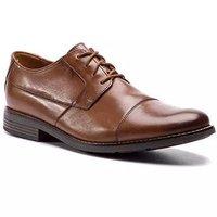 Clarks 男 正装鞋 261231387 Becken Cap