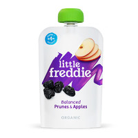 LittleFreddie 小皮 有机苹果西梅果泥 100g   *2件