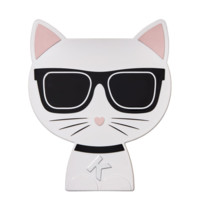 银联专享 : Karl Lagerfeld + ModelCo 老佛爷 16色猫咪眼影盘 #Smokey