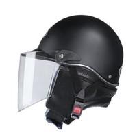 GRAZING MAN 放牧人 BK303 电动摩托车头盔 配可拆卸围脖