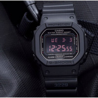 CASIO 卡西欧 G-SHOCK DW-5600MS-1 男士运动腕表