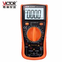 胜利 数字万用表防烧型 2万大电容带 测温度 VC890C+ 万用表
