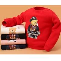 CLASSIC TEDDY精典泰迪 儿童加绒圆领卫衣 *2件
