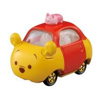 TAKARA TOMY 多美 合金玩具车模 维尼熊合金小汽车 TSUM-TOP840503 *7件