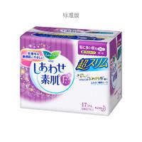 花王 Lauríer 乐而雅 F系列 敏感肌超薄超安心日用卫生巾  25厘米 17片/包 *10件