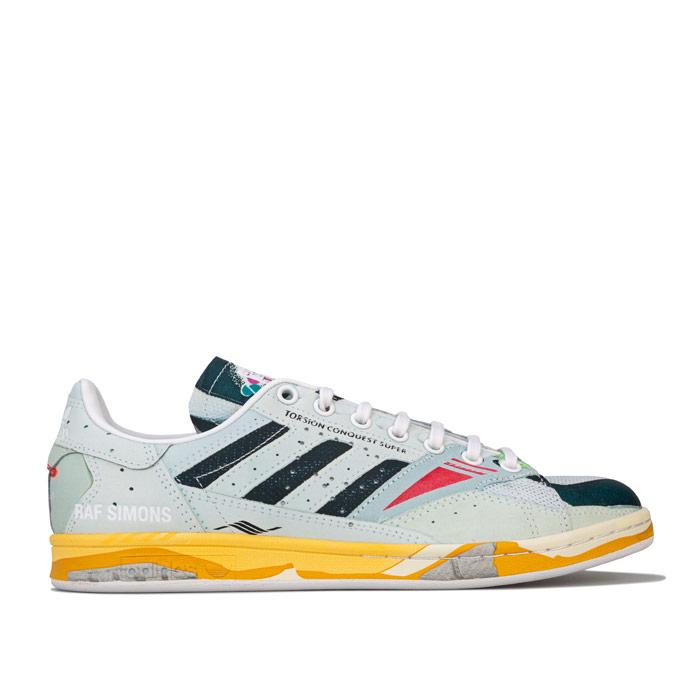 adidas Originals Mens Raf Simons Torsion Stan Smith Trainers 男士联名板鞋