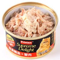 Frisian 富力鲜 白身鲔鱼蟹肉猫罐头 85g*48罐