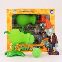 NUKied 纽奇 植物大战僵尸儿童玩具 2套装