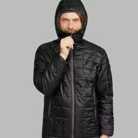 DECATHLON 迪卡侬 TREK 100 男式户外连帽保暖夹克