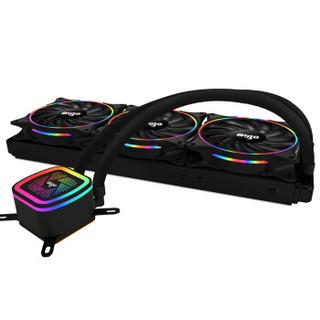 aigo 爱国者 冰塔V360彩虹版 一体式水冷散热器 360冷排