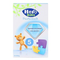 Hero Baby 益生元婴儿奶粉5段 700g*4盒