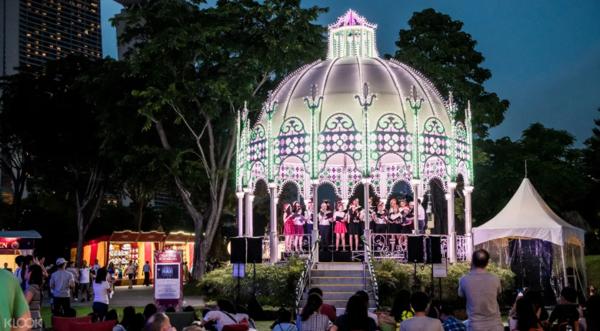 一年一度!2019年 新加坡滨海湾花园 圣诞仙境门票