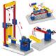 万格 小颗粒积木 动力原理工程机械3合1系列 1304 升降机 23.9元包邮(需用券)