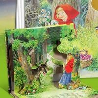 乐乐趣 《经典童话立体剧场书:小红帽》 3D立体书