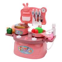 亿青玩具 儿童仿真厨房具套装 19件套