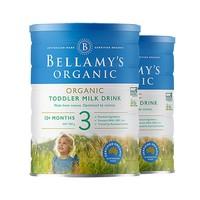 BELLAMY'S 贝拉米 婴幼儿配方奶粉 3段 900g*2罐
