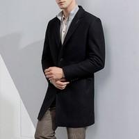 Romon 罗蒙 DY18HF12712 男士羊毛混纺大衣