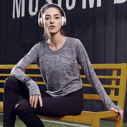 考拉工厂店 女子无缝运动长袖T恤 升级版