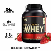 OPTIMUM NUTRITION 欧普特蒙 金标乳清蛋白营养粉  草莓味 5磅