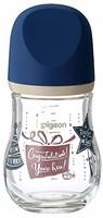 Pigeon 贝亲 宽口径玻璃奶瓶 160ml 礼物 SS号奶嘴