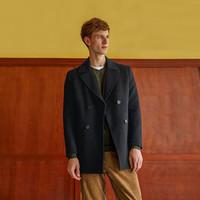小米有品 制者 男士保暖混纺羊毛呢大衣