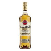 百加得(Bacardi)  洋酒  朗姆酒 金朗姆酒  750ml *3件
