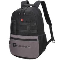 SWISSGEAR电脑包 14.6英寸商务笔记本电脑背包男 时尚休闲双肩包学生书包 SA-9922黑色 *5件