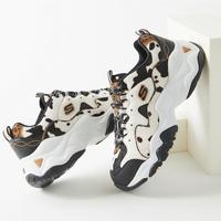 限7.5码:Skechers 斯凯奇 D-Lites 3 奶牛印花女士运动鞋