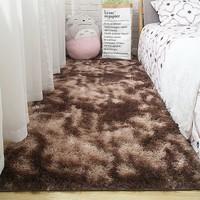 蓝海棠 毛绒地毯 40*60cm
