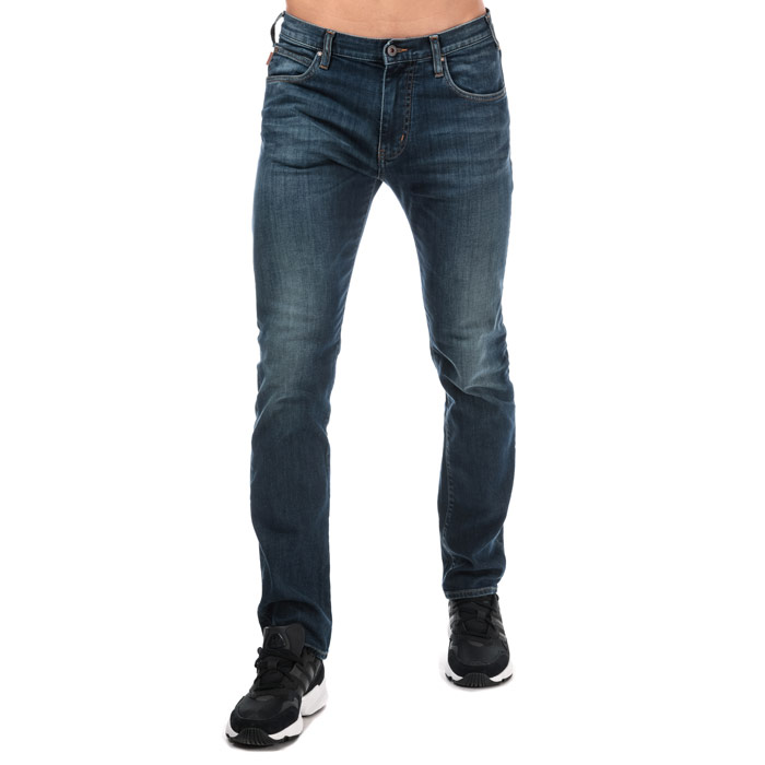 银联专享 : ARMANI J45 Slim Fit 男士牛仔裤