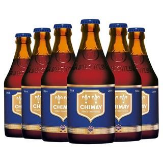 CHIMAY 智美 蓝帽啤酒 组合装 330ml*6瓶 *2件