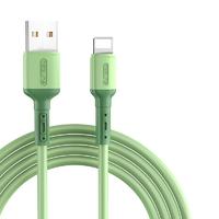 ASZUNE 艾苏恩 液态硅胶线身 iPhone数据线 1.2/1.88米 2条装