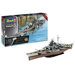 Revell 威望 05160 Tirpitz 提尔皮茨号战列舰 铂金版 1:350