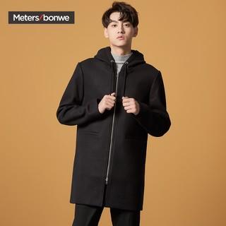 Meters bonwe 美特斯邦威  601942 中长款毛呢外套