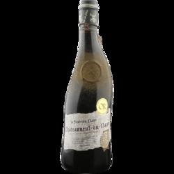 法国进口红酒 隆河丘产区AOC级别 歪脖子 芙华教皇新堡红葡萄酒750ml *2件