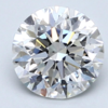 Blue Nile 1.00克拉圆形切割钻石(切工EX 成色F色 净度VS2)