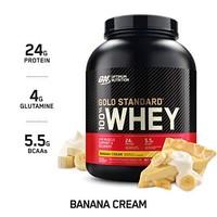 Optimum Nutrition 欧普特蒙 金牌乳清蛋白营养粉 香蕉奶油味 5 磅(2.268千克)