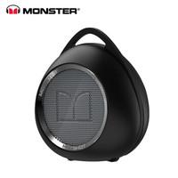 魔声(Monster) SuperStar HotShot 无线便携蓝牙音箱 迷你小钢炮 黑色