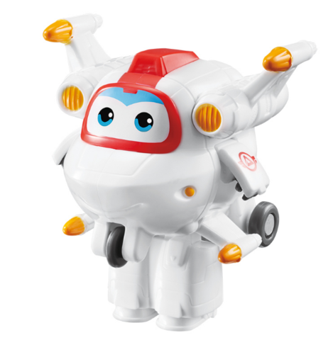 AULDEY  超级飞侠系列 730043 迷你变形机器人-米克