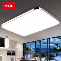 TCL 酷雅系列 led吸顶灯 大客厅调光带遥控 60W 82*65cm