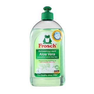 Frosch 福纳丝 芦荟润肤洗碗液去油污洗洁精 0.5L *5件