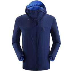 凯乐石(KAILAS)时尚双面穿设计 户外运动男款零动-全时防风防雨冲锋衣 星空蓝 M *2件