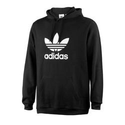 阿迪达斯(adidas)三叶草2018秋季男士常规款连帽运动卫衣套头衫 DT7964