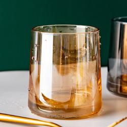 onlycook威士忌酒杯玻璃饮酒杯高硼硅白酒烈酒洋酒杯啤酒杯水杯子