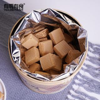 豆乳威化饼干288g罐装网红零食夹心茶点健康营养早餐 *2件