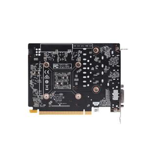 ZOTAC 索泰 GTX1650 Super-4GD6 雷霆版 MA 显卡(GTX1650、4G、1530~1725MHz)