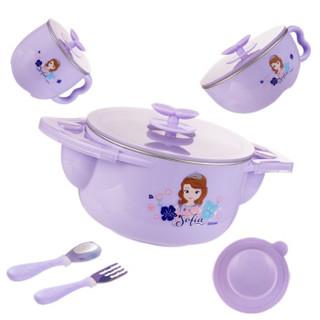 京东PLUS会员 : Disney 迪士尼 儿童保温碗5件套 *2件 +凑单品