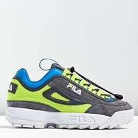 限尺码:FILA 斐乐 破坏者 Disruptor Trail Sneaker  男款老爹鞋
