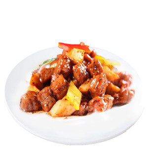 限地区 : HONDO BEEF 恒都 黑椒牛肉粒 500g *7件